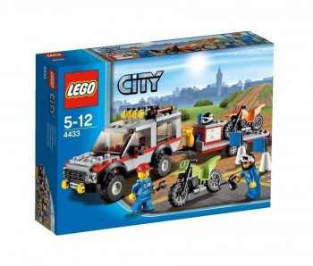 LEGO CITY COCHE CON MOTOS 4433