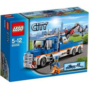 LEGO CITY CAMIÓN GRUA 60056