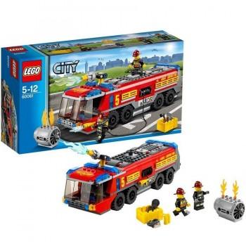 LEGO CITY CAMIÓN DE BOMBEROS AEROPUERTO 60061