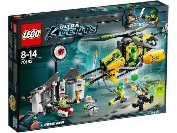 LEGO AGENTS EL CAZA TOXICO DE TOXIKITA 70163