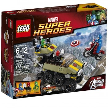 LEGO SUPER HEROES CAPITAN AMERICA 76017