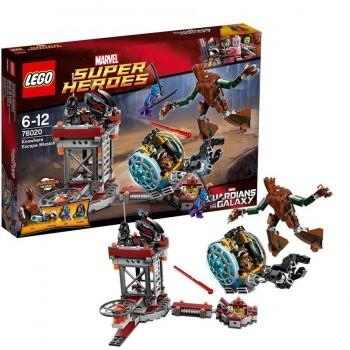 LEGO SUPER HEROES MISION DE HUIDA 76020