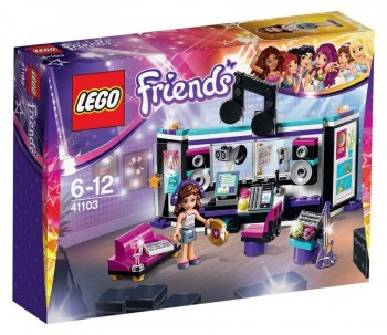 LEGO FRIENDS ESTUDIO GRABACION 41103