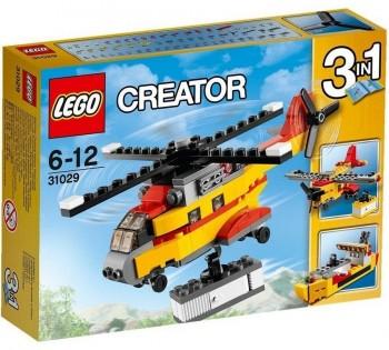 LEGO CREATOR HELICOPTERO DE MERCANCIAS 31029
