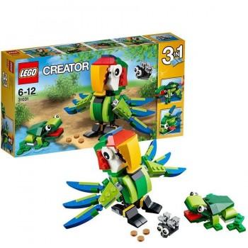 LEGO CREATOR ANIMALES TROPICALES 31031