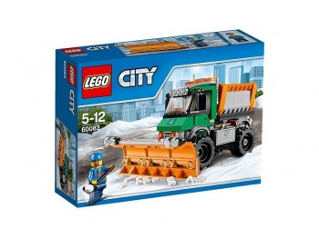 LEGO CITY CAMION QUITANIEVES 60083