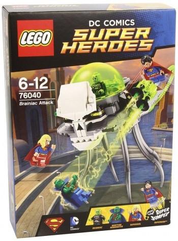 LEGO SUPER HEROES EL ATAQUE DE BRAINIAC 76040