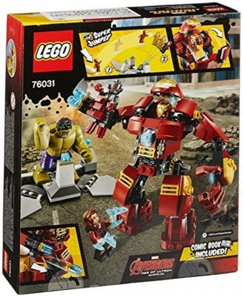 LEGO SUPER HEROES THE HULK BUSTER SMASH 76031