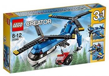 LEGO CREATOR HELICOPTERO DOBLE HELICE 31049