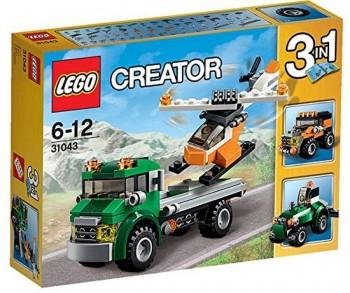 LEGO CREATOR TRANSPORTE DE HELICOPTERO 31043