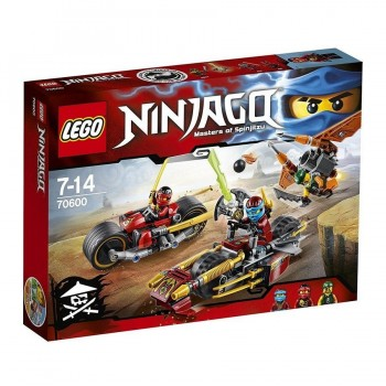LEGO NINJAGO PERSECUCION EN LA MOTO NINJA 70600