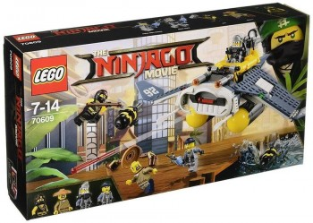 LEGO NINJAGO MOVIE BOMBARDERO 70609