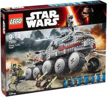 LEGO STAR WARS CLONE TURBO TANK 75151