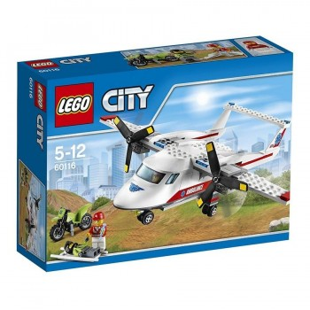 LEGO CITY AVION MEDICO 60116