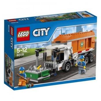 LEGO CITY CAMION DE LA BASURA 60118