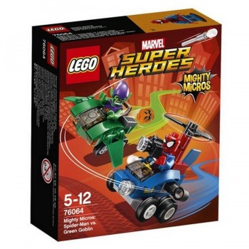 LEGO SUPER HEROES MIGHTY MICROS SPIDERMAN 76064