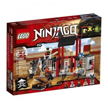 LEGO NINJAGO HUIDA DE LA PRISION KRYPTARIOM 70591