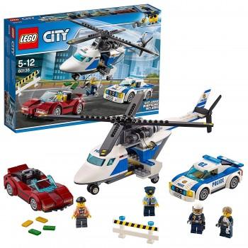 LEGO CITY PERSECUCION POR AUTOPISTA REF-60138
