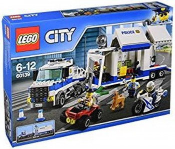 LEGO CITY CENTRO DE CONTROL POLICIA MOVIL 60139