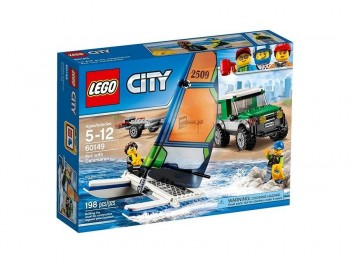 LEGO CITY 4X4 + CATAMARAN 60149