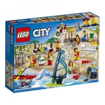 LEGO CITY PACK MINIFIGURAS DIVERSION 60153