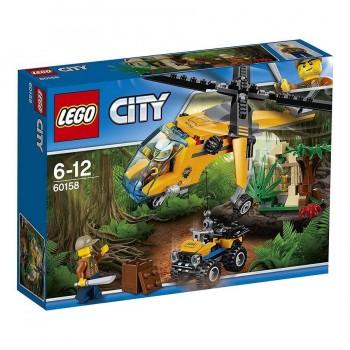 LEGO CITY HELICOPTERO + TODOTERRENO 60158