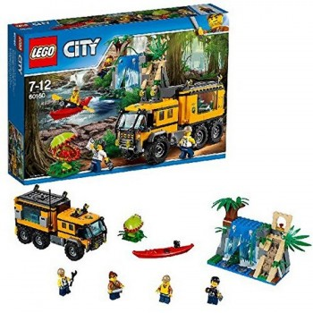 LEGO CITY JUNGLA LABORATORIO MOVIL 60160