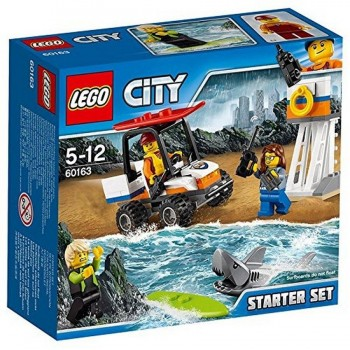 LEGO CITY SET DE RESCATE MARINO 60163
