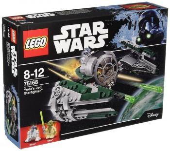 LEGO STAR WARS YODA JEDI STARFINGHTER 75168