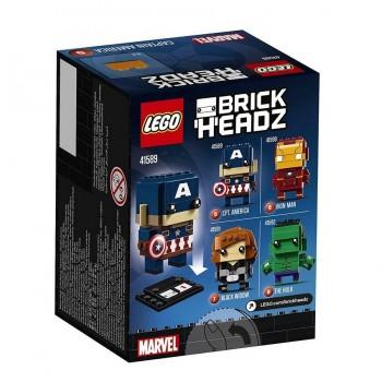 LEGO HEADZ CAPITAN AMERICA 41589