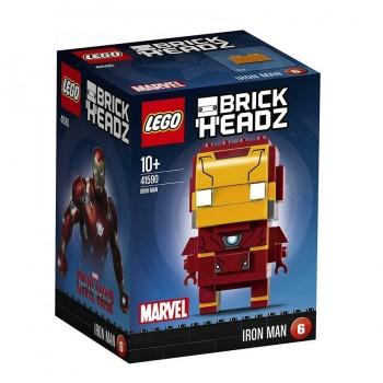 LEGO BRICK HEADZ IRON MAN 41590