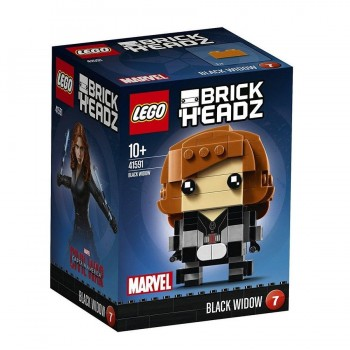 LEGO HEADZ BLACK WIDOW 41591