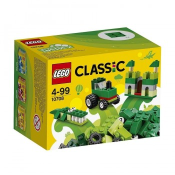 LEGO CLASIC CAJA VERDE 10708