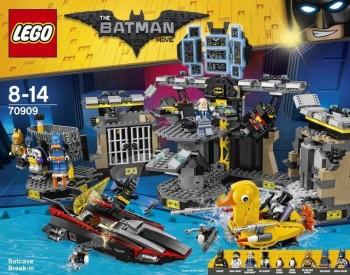 LEGO BATMAN BATCUEVA 70909