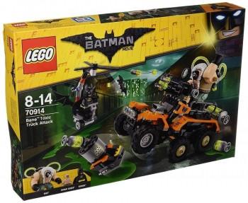 LEGO BATMAN CAMION TOXICO BANE 70914