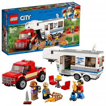 LEGO CITY CAMIONETA Y CARAVANA 60182
