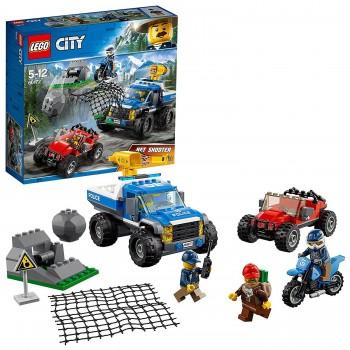 LEGO CITY CAZA EN LA CARRERA REF-60172