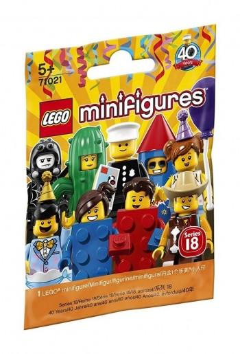 LEGO MINI FIGURAS SERIE 18 40 ANIVERSARIO 71021