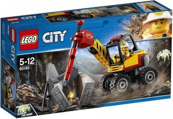 LEGO CITY MINA MARTILLO HIDRAULICO 60185