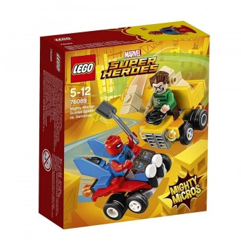LEGO SUPER HEROES SPIDER & SANDMAN 76089