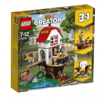 LEGO CREATOR 3X1 TESOROS DE LA CASA DEL ARBOL REF-31078