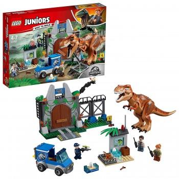 LEGO JUNIOR JURASSIC FUGA DEL T REX 10758