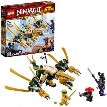 LEGO NINJAGO DRAGON DORADO 70666