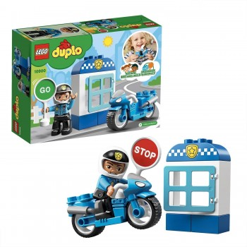 LEGO DUPLO MOTO POLICIA 10900