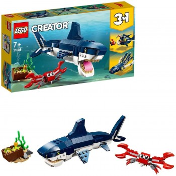 LEGO CREATOR 3X1 CRIATURAS DEL FONDO MARINO 31088
