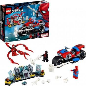 LEGO SPIDERMAN RESCATE EN MOTO 76113