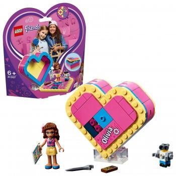 LEGO FRIENDS CAJA CORAZON DEOLIVIA 41357