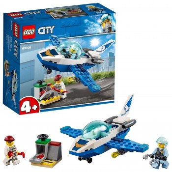 LEGO CITY AVION PATRULLA 60206