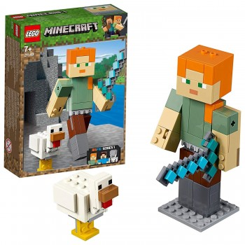 LEGO MINECRAFT ALEX CON GALLINA 21149
