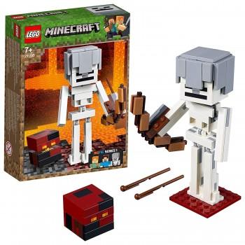 LEGO MINECRAFT ESQUELETO CON CUBO 21150